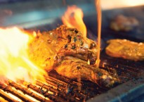 Flamed-grilled Chicken at the Butlins Firehouse restaurant