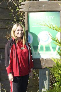 Sports Coach, Kate at Bullseye Bay
