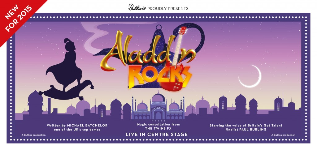 Aladdin Rocks at Butlins in 2015
