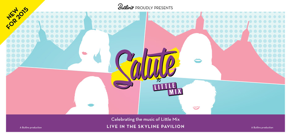 Salute - Little Mix at Butlins in 2015