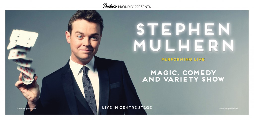 Stephen Mulhern at Butlins in 2015