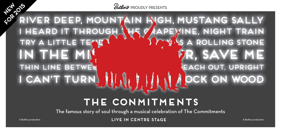 The Conmitments at Butlins in 2015