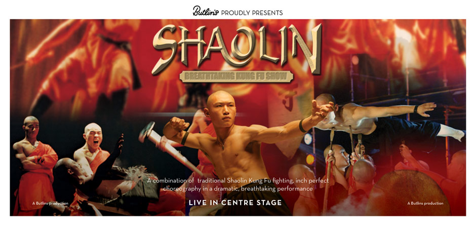 Shaolin Monks at Butlins in 2015