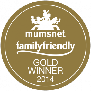 Butlins won the Mumsnet Family Friendly Gold Award 2014