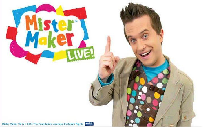 Mister Maker live at Butlins