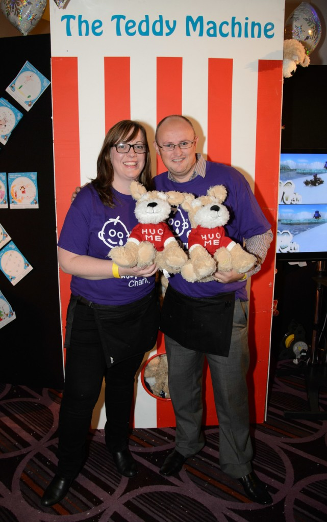 Andrew and Alicia at GOSH Christmas Party