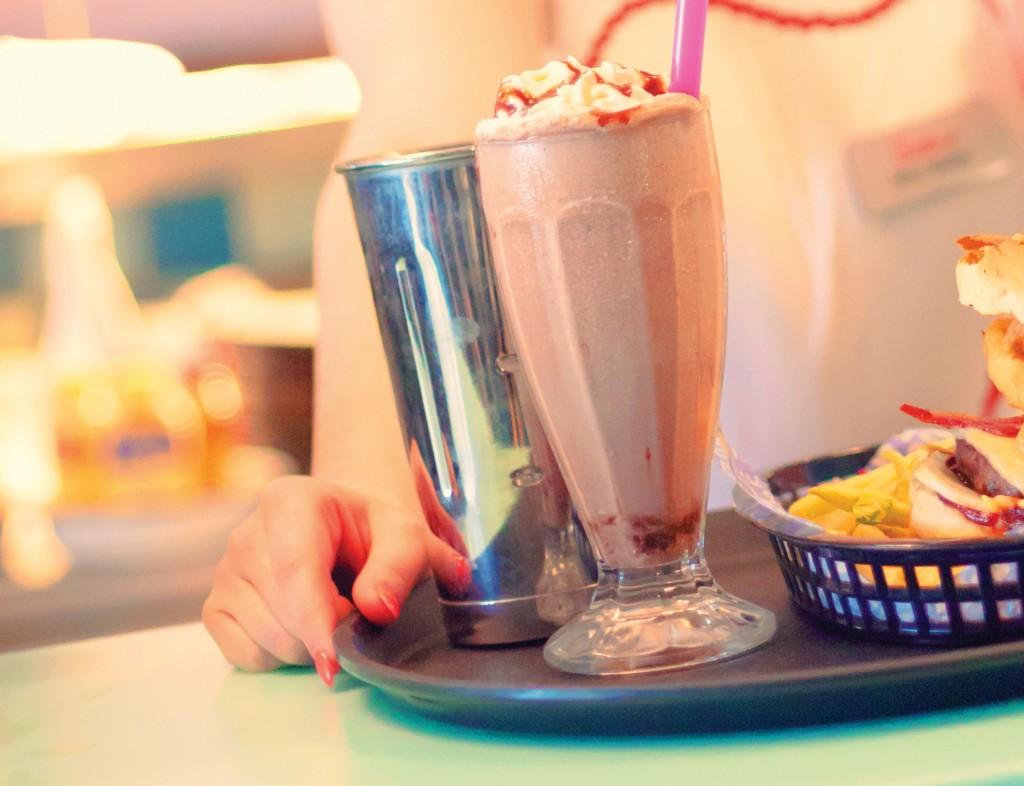 Milkshakes at the new Diner