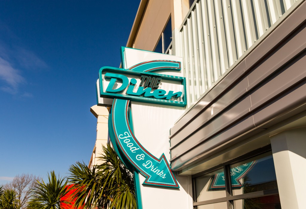 Miami or Minehead? The new Diner opens this half term