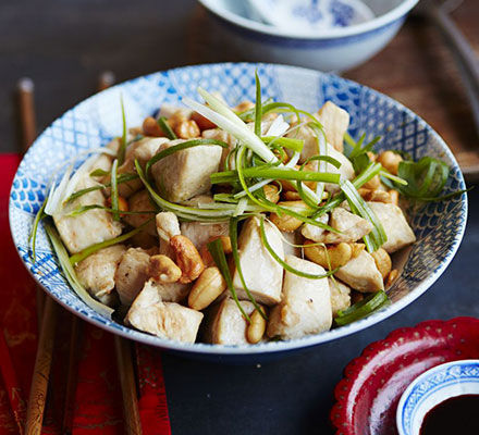 Chinese New Year Cashew Chicken