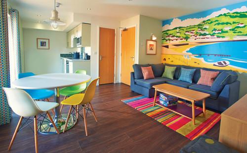 Minehead Chalets Living Room