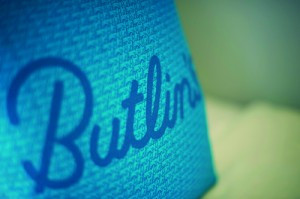 Chalet - Butlin's cushion