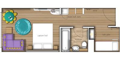 Shoreline Room Plans