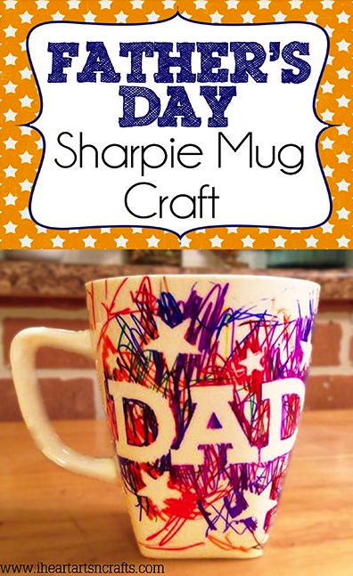 Father's Day Mug. Found on iheartartsncrafts.com