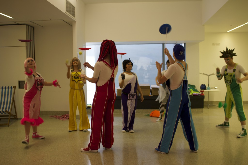 Skyline Gang Circus Skills