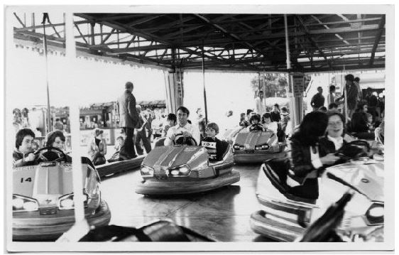 Butlin's Dodgems in 1977