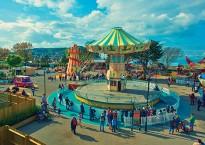 The Fairground at Butlin's Minehead