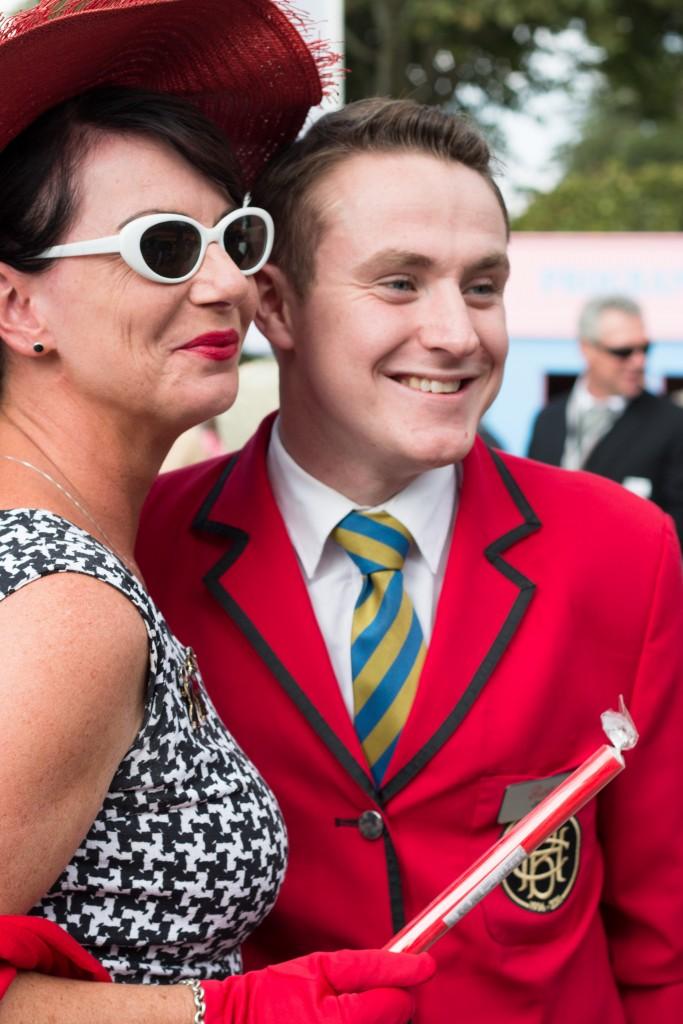Redcoat Jake at Goodwood Revival