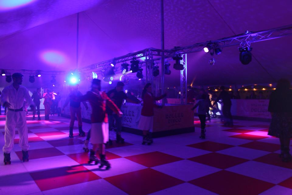 Roller Disco by Night
