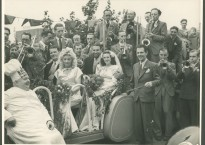 Camp Wedding of Cyril And Joan Reeves, 1946