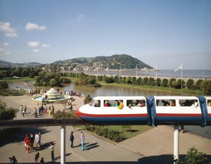 Monorail at Minehead