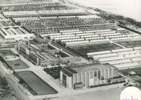 Butlin's Skegness - Early Aerial View of Chalets