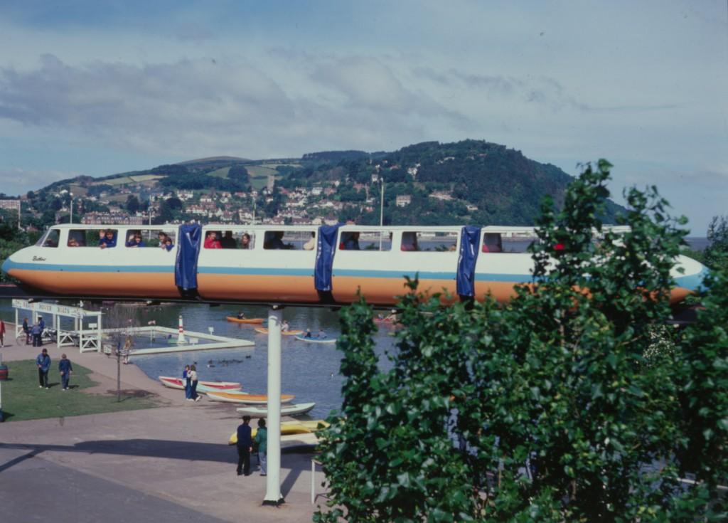 Monorail at Minehead