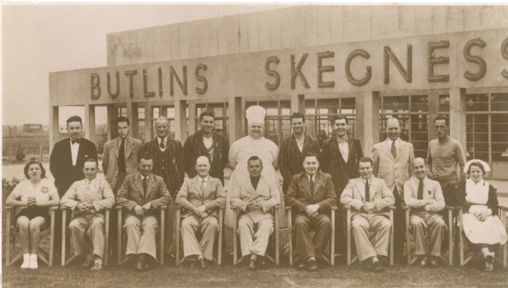 1937 Billy Butlin and Skegness team