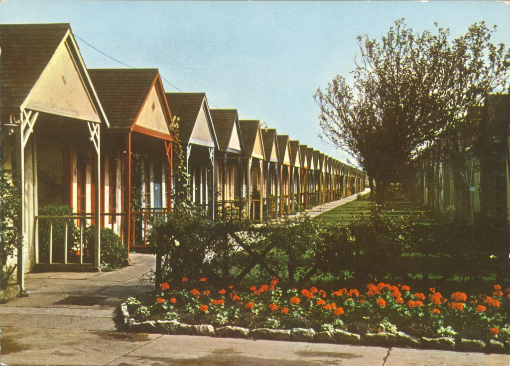 Chalets at Skegness