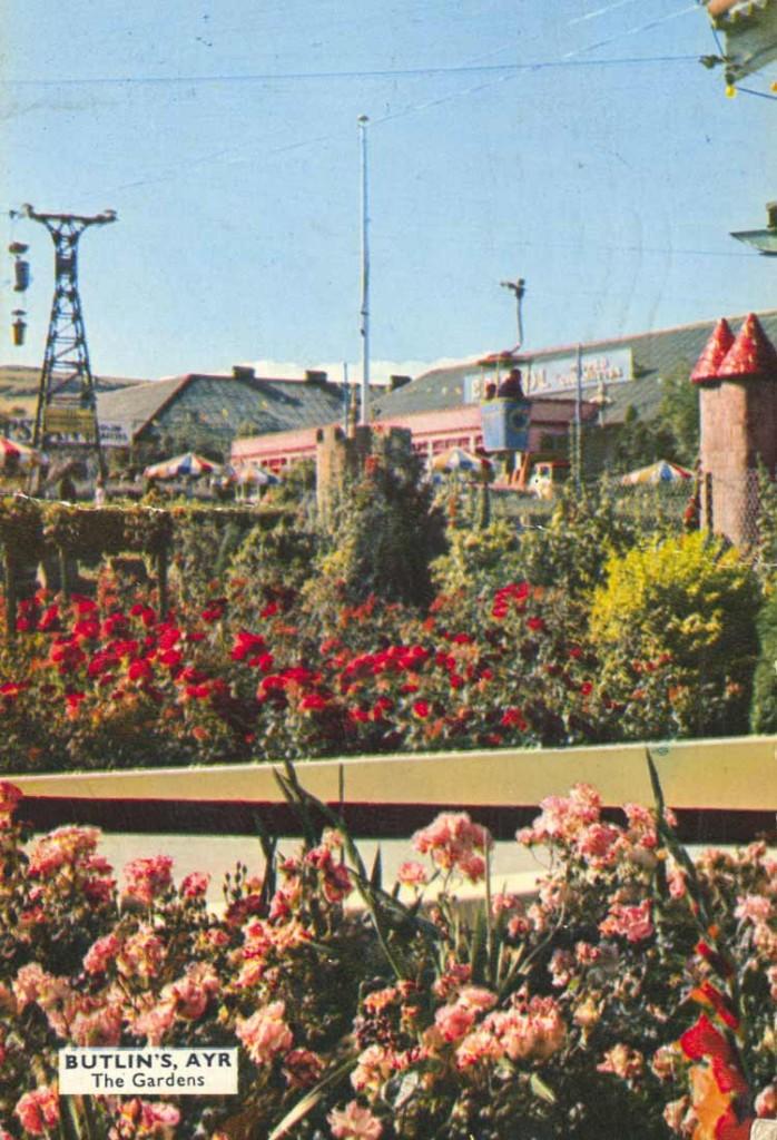 Butlin's Ayr, The Gardens, 1962
