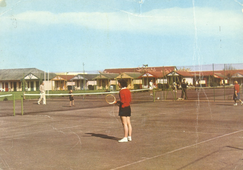 Tennis courts at Butlins