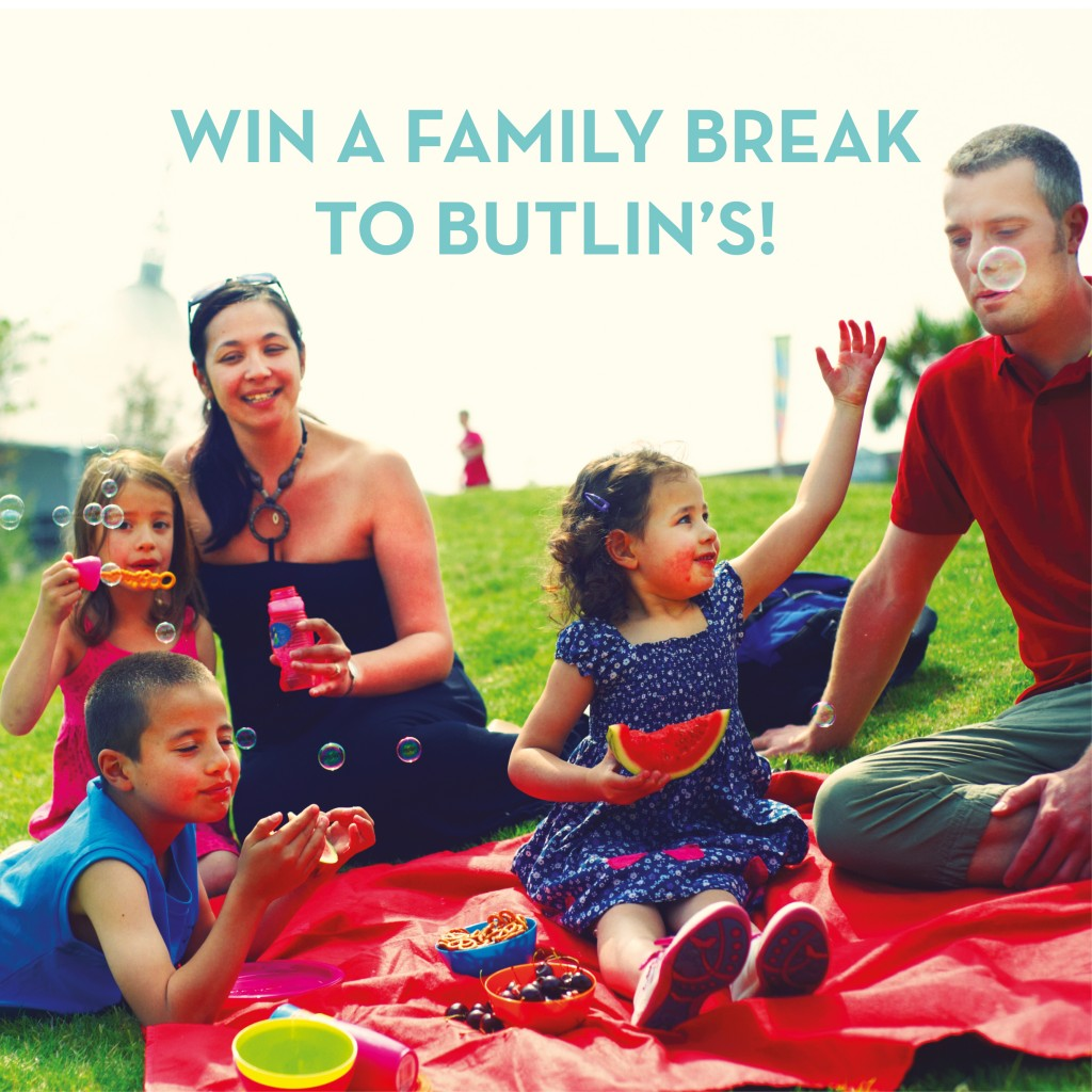 Win A Family Break to Butlins Competition