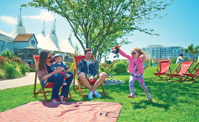 Outdoor family time at Butlins