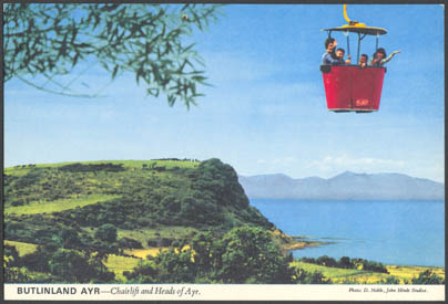 Butlins Ayr Postcard | John Hinde Ltd