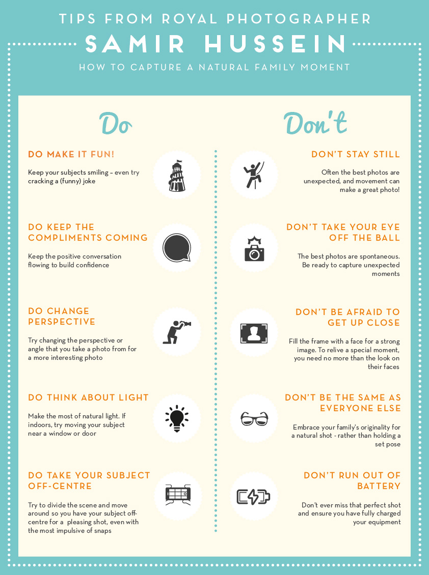 Samir Hussein Dos and Donts Infographic | Butlins Blog