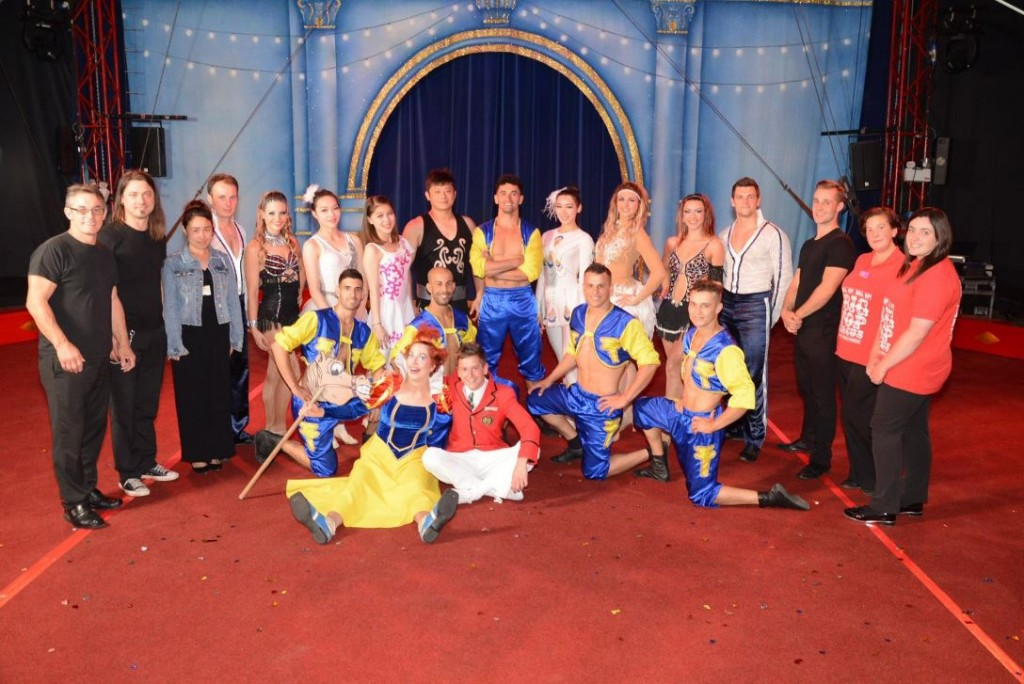 Gandey Productions Circus Acts at Butlins Skegness