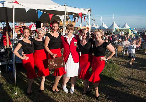 Butlins Redcoats at Goodwood Revival