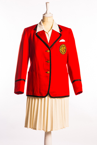 The first female Redcoat uniform, Butlins