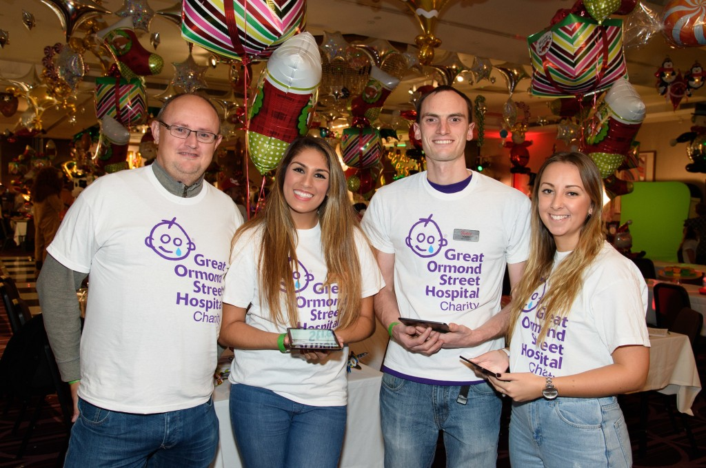 The Butlin's team at the GOSH Christmas children's party 2016 | Butlins blog