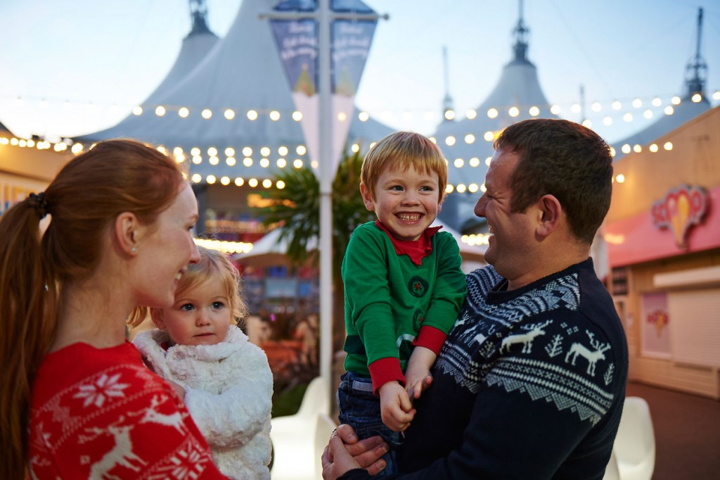 Family time at Butlins Festive breaks