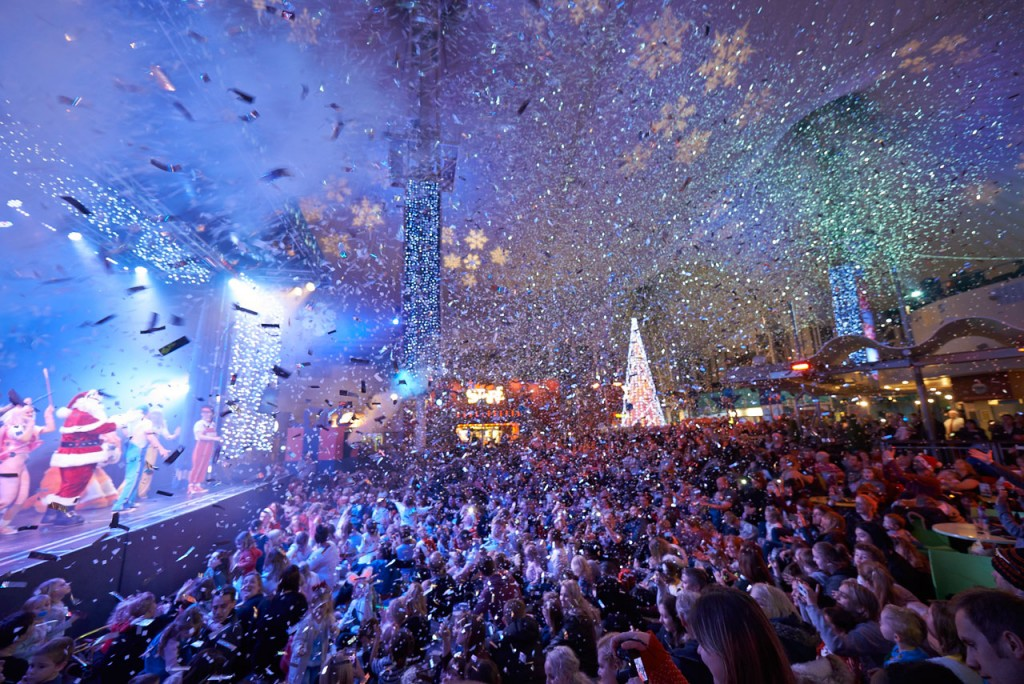 Skyline Snowstorn at Butlins festive breaks