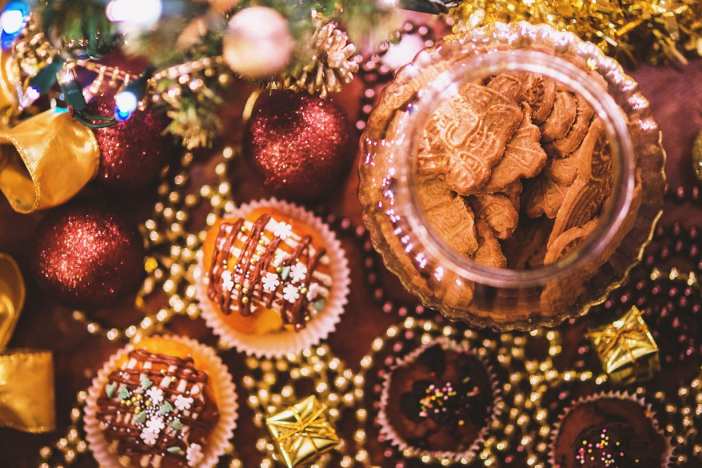 Christmas treats. Image taken from static.pexels.com | Butlins blog