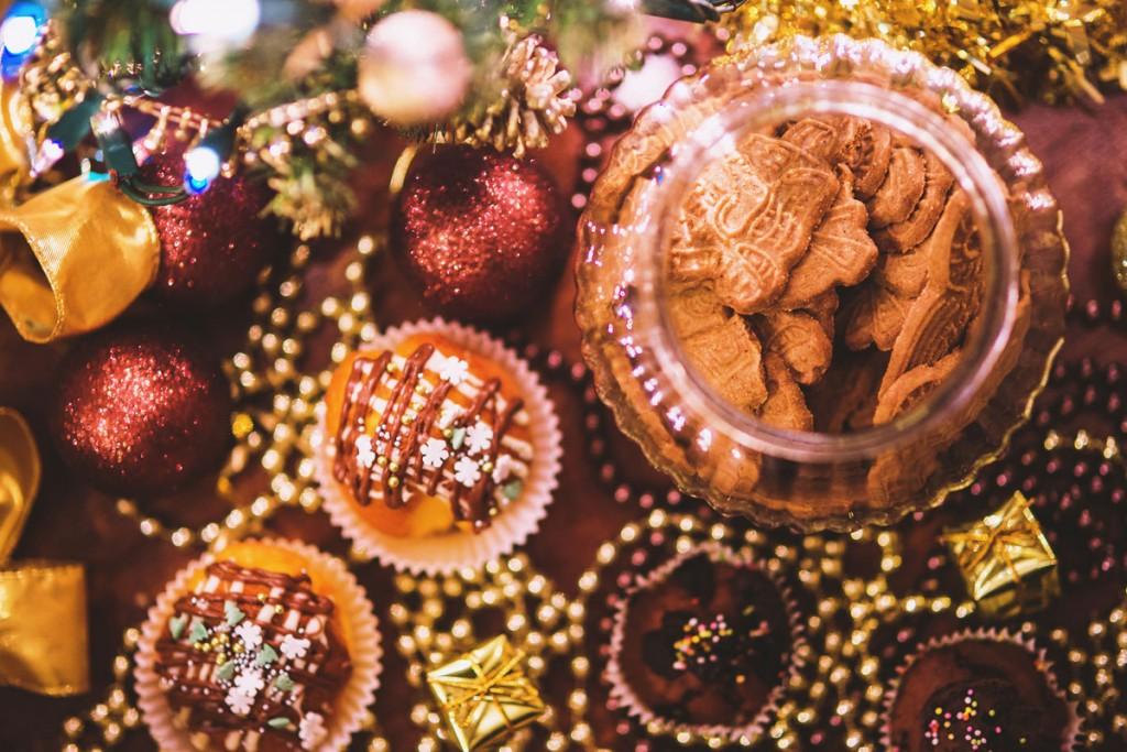 Christmas treats. Image taken from static.pexels.com | Butlins blog