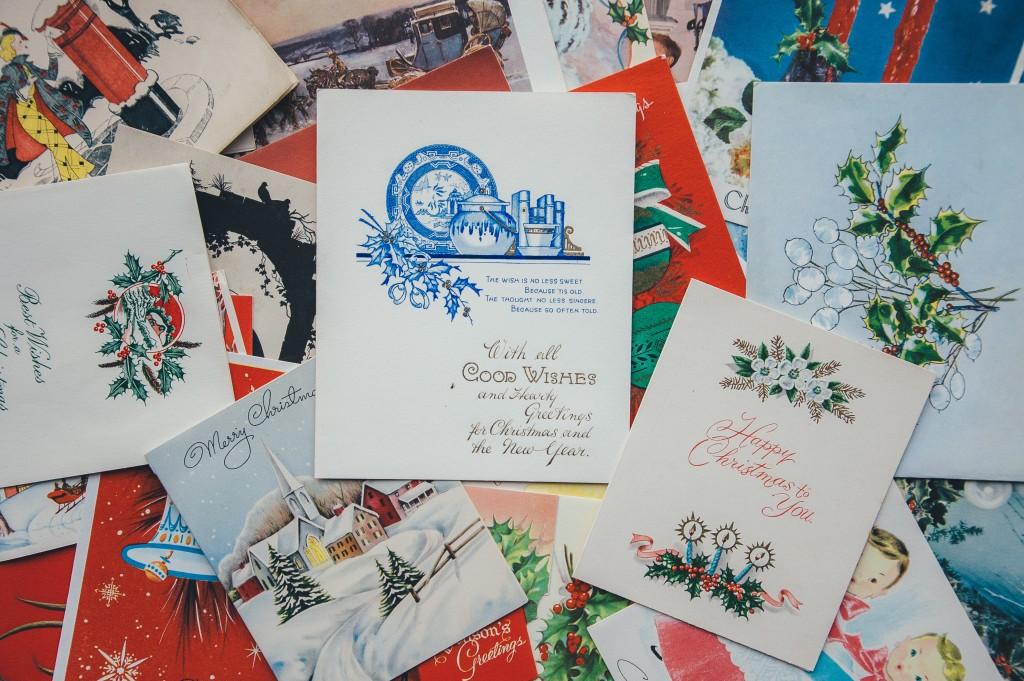 Christmas cards. Image taken from Unsplash.com | Butlins blog