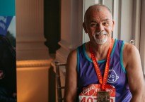 Jim Clark, Butlin's Skegness Head Gardener with London Marathon medal | Butlins Blog
