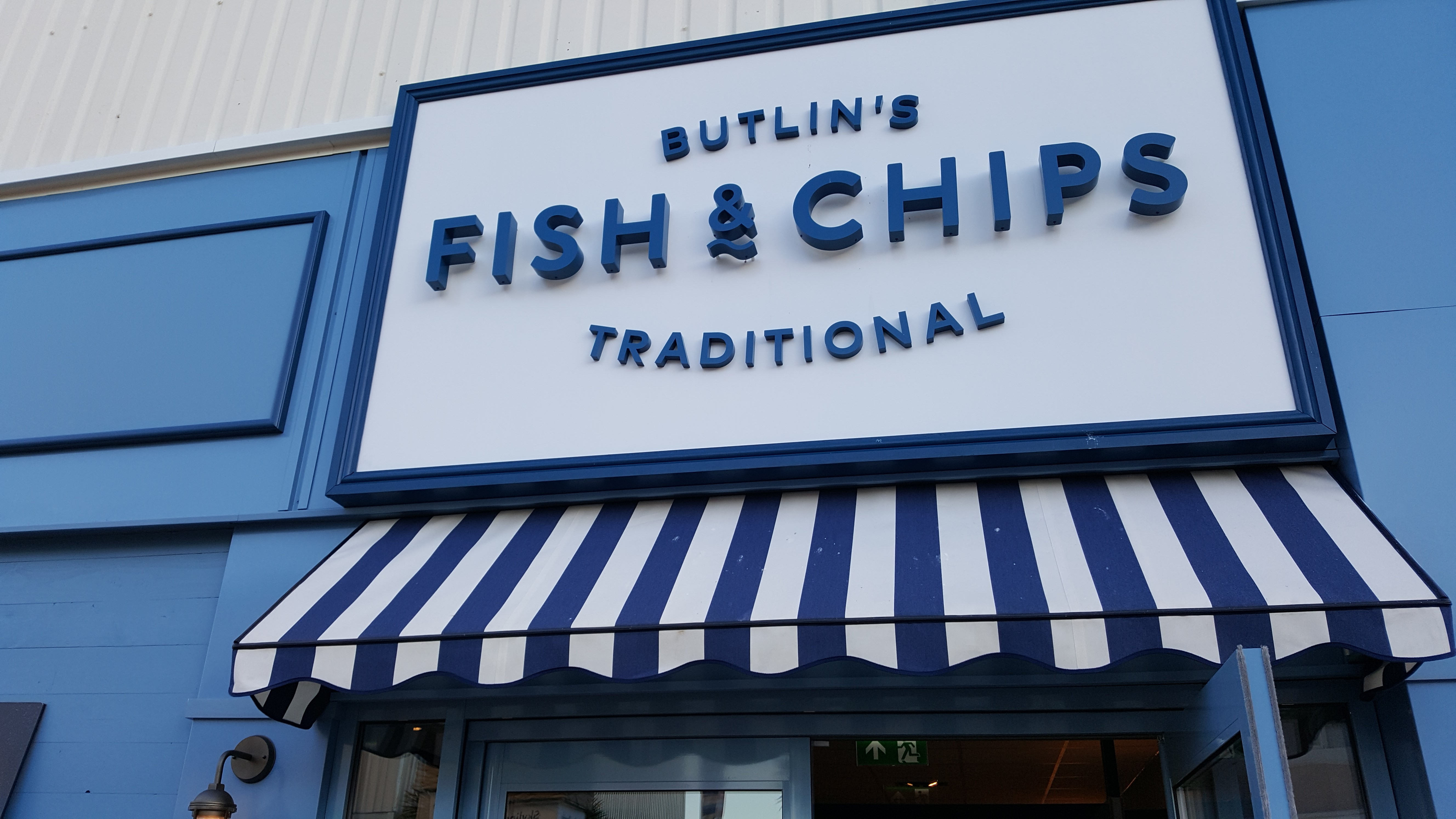 introducing butlin's traditional fish and chips restaurant