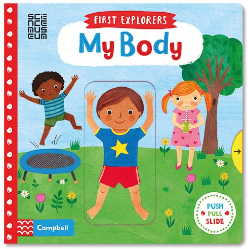 5 favourite fun and early learning books by Campbell Books for Butlins | First Explorers My Body