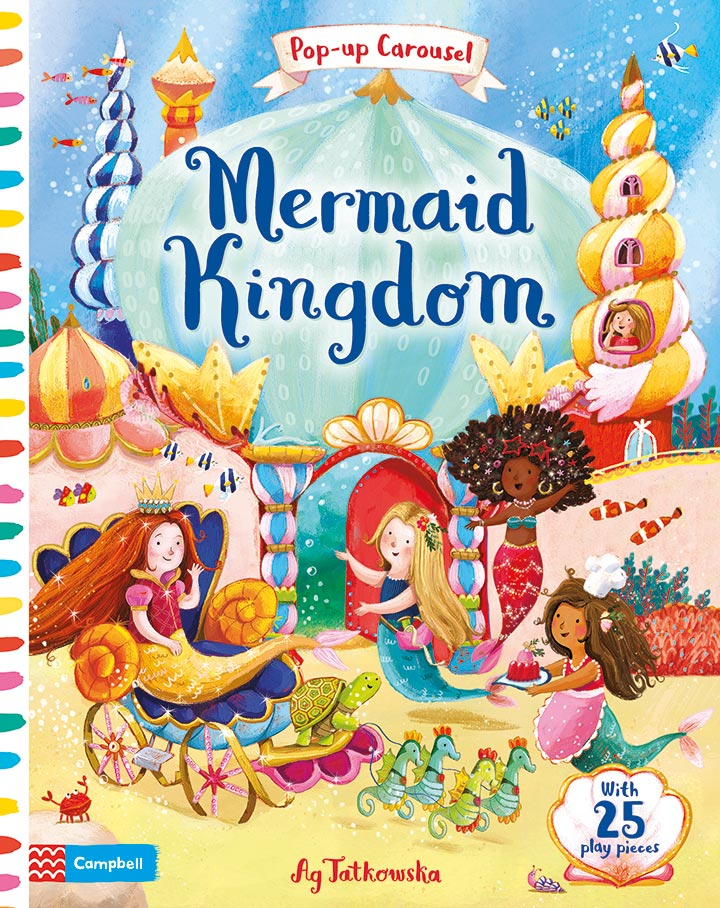 5 favourite fun and early learning books by Campbell Books for Butlins | Mermaid Kingdom