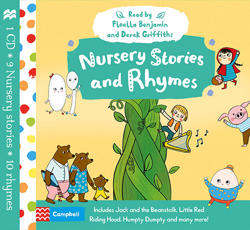 5 favourite fun and early learning books by Campbell Books for Butlins | Nursery Stories and Rhymes