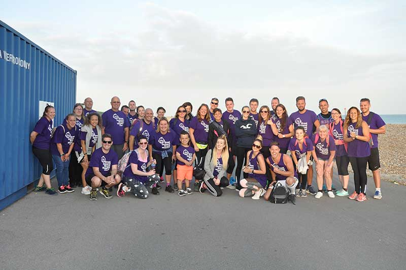 Butlins Brighton to Bognor Regis charity walk for GOSH | Butlins Blog