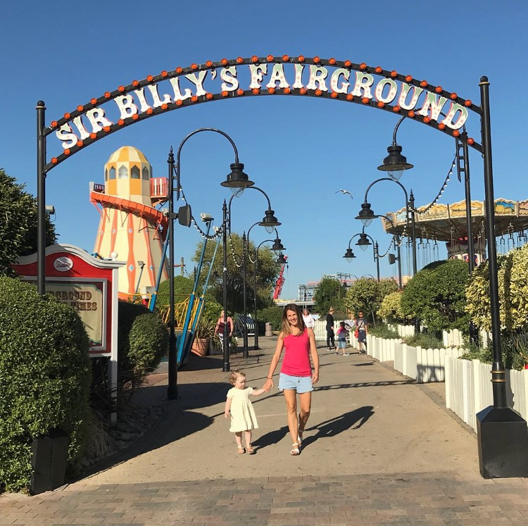 Lola & I | Sir Billy's Fairground | Just For Tots| Butlins Blog